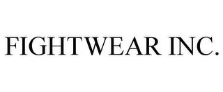 mark for FIGHTWEAR INC., trademark #85669925