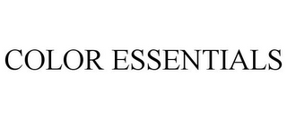 mark for COLOR ESSENTIALS, trademark #85670204