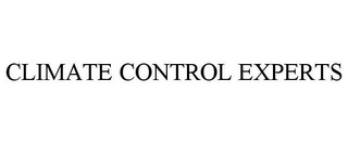 mark for CLIMATE CONTROL EXPERTS, trademark #85670333