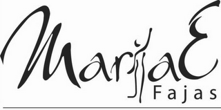 mark for MARIAE F A J A S, trademark #85670425