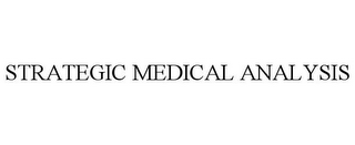mark for STRATEGIC MEDICAL ANALYSIS, trademark #85671003