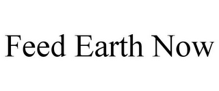 mark for FEED EARTH NOW, trademark #85671066