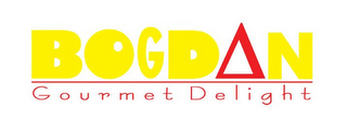 mark for BOGDAN GOURMET DELIGHT, trademark #85671212