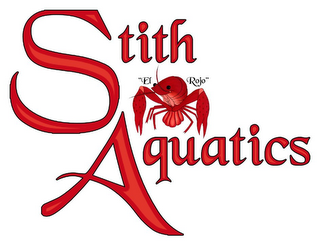 "mark for STITH AQUATICS ""EL ROJO"", trademark #85671363"