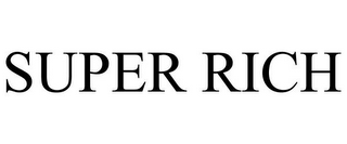 mark for SUPER RICH, trademark #85671410