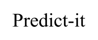 mark for PREDICT-IT, trademark #85671673