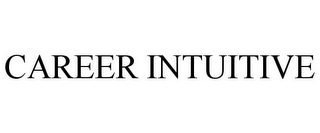 mark for CAREER INTUITIVE, trademark #85671783