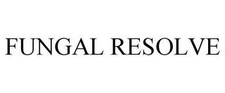 mark for FUNGAL RESOLVE, trademark #85671882