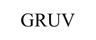 mark for GRUV, trademark #85671891