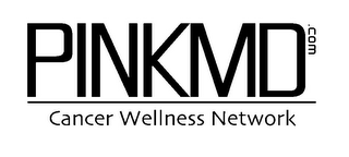 mark for PINKMD.COM CANCER WELLNESS NETWORK, trademark #85672005