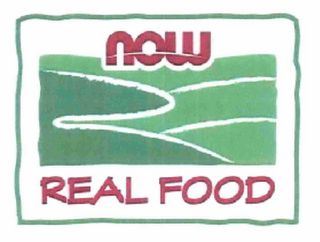 mark for NOW REAL FOOD, trademark #85672209