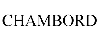 mark for CHAMBORD, trademark #85672792