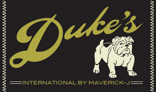 mark for DUKE'S INTERNATIONAL BY MAVERICK-J, trademark #85672874