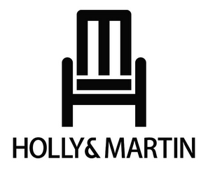 mark for HOLLY & MARTIN, trademark #85673182