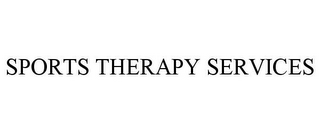 mark for SPORTS THERAPY SERVICES, trademark #85673323