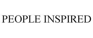 mark for PEOPLE INSPIRED, trademark #85673371