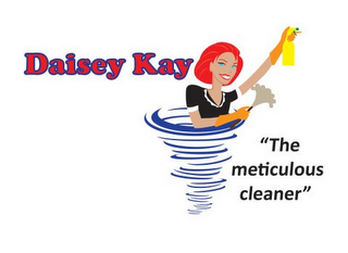 "mark for DAISEY KAY ""THE METICULOUS CLEANER"", trademark #85673443"