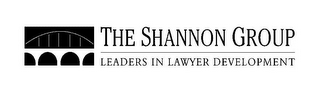 mark for THE SHANNON GROUP LEADERS IN LAWYER DEVELOPMENT, trademark #85673641