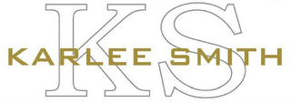 mark for KS KARLEE SMITH, trademark #85673743