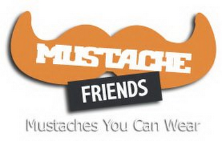 mark for MUSTACHE FRIENDS, trademark #85673837
