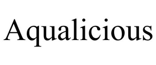 mark for AQUALICIOUS, trademark #85674019