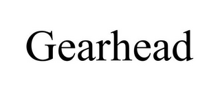 mark for GEARHEAD, trademark #85674082