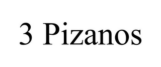 mark for 3 PIZANOS, trademark #85674396