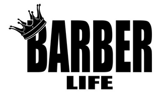mark for BARBER LIFE, trademark #85674486