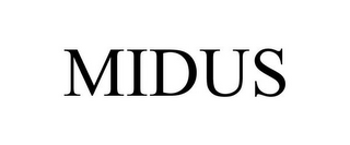 mark for MIDUS, trademark #85674488