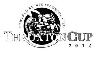 mark for POWERED BY: BES INCORPORATED THRUXTON CUP 2012, trademark #85674491