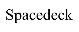mark for SPACEDECK, trademark #85674524