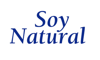 mark for SOY NATURAL, trademark #85674729