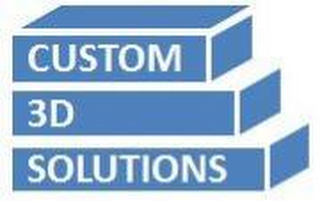 mark for CUSTOM 3D SOLUTIONS, trademark #85675064