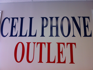 mark for CELL PHONE OUTLET, trademark #85675206