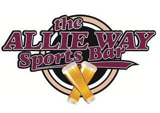 mark for THE ALLIE WAY SPORTS BAR, trademark #85675267