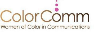mark for COLORCOMM WOMEN OF COLOR IN COMMUNICATIONS, trademark #85675314