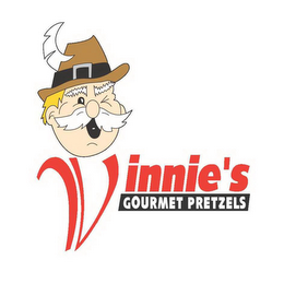 mark for VINNIE'S GOURMET PRETZELS, trademark #85675472