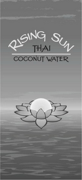 mark for RISING SUN THAI COCONUT WATER, trademark #85675646