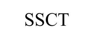 mark for SSCT, trademark #85675833