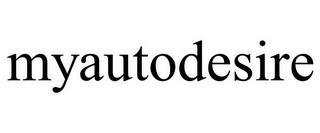 mark for MYAUTODESIRE, trademark #85675870