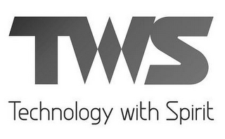 mark for TWS TECHNOLOGY WITH SPIRIT, trademark #85675956