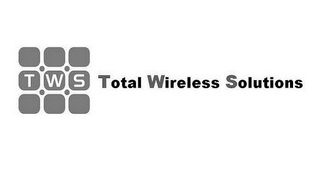 mark for TWS TOTAL WIRELESS SOLUTIONS, trademark #85675963