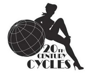 mark for 20TH CENTURY CYCLES, trademark #85676034