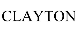 mark for CLAYTON, trademark #85676046