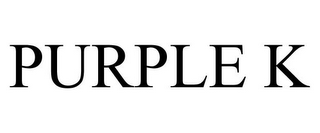 mark for PURPLE K, trademark #85676082