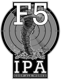 mark for F5 IPA COOP ALE WORKS, trademark #85676237