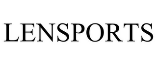 mark for LENSPORTS, trademark #85676364