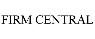 mark for FIRM CENTRAL, trademark #85676470