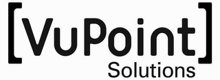 mark for [VUPOINT] SOLUTIONS, trademark #85676473