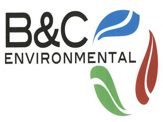 mark for B&C ENVIRONMENTAL, trademark #85676504